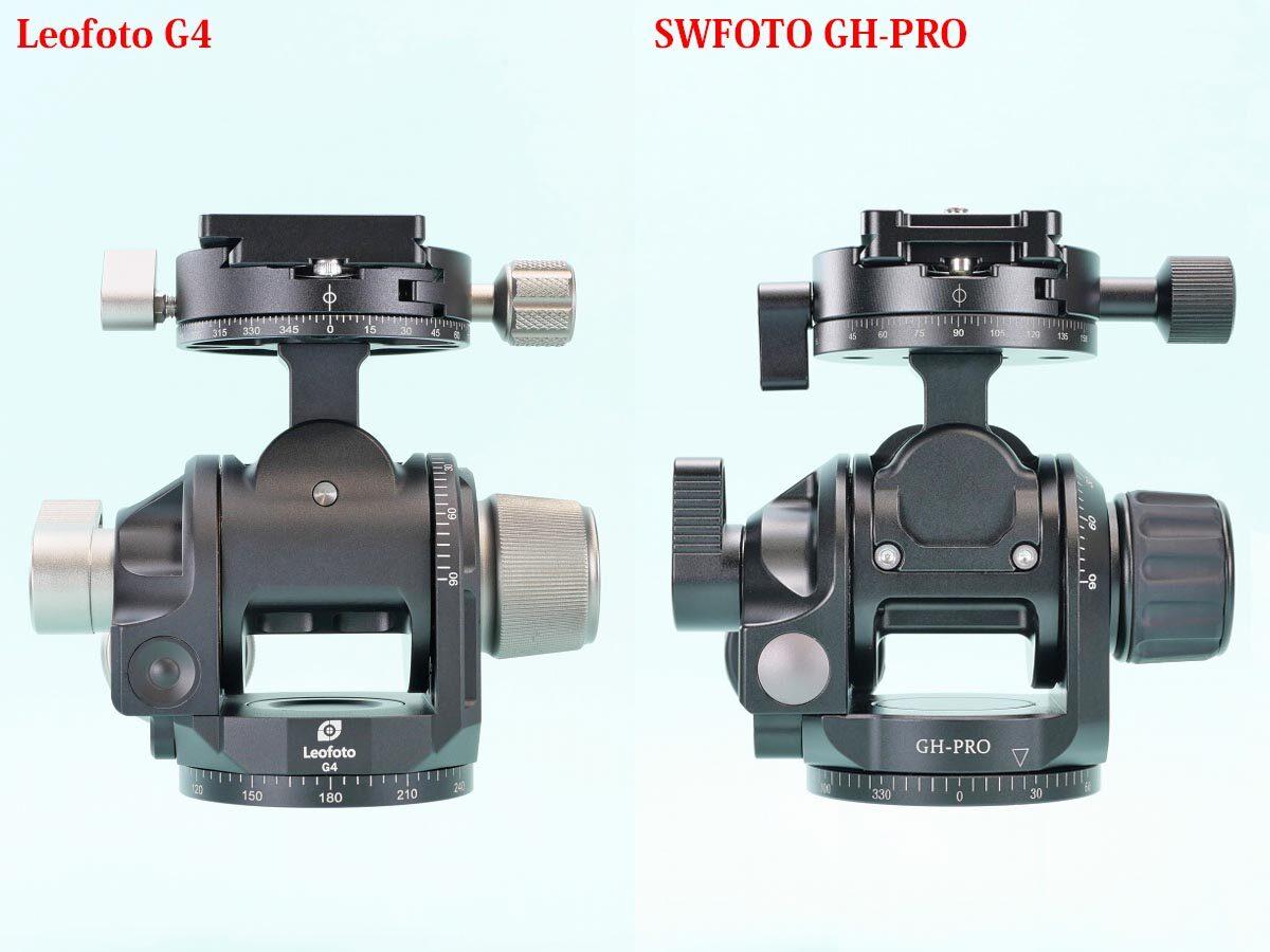 12 Leofoto G4 と SWFOTO GH-PRO  比較前