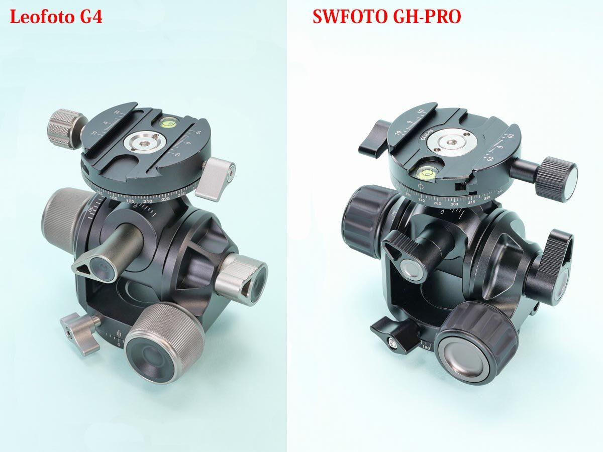 14 Leofoto G4 と SWFOTO GH-PRO  比