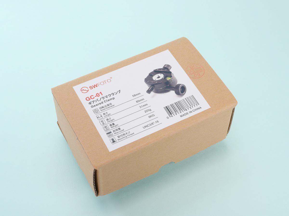 01 SWFOTO GC-01 ギアパノラマクランプ 箱